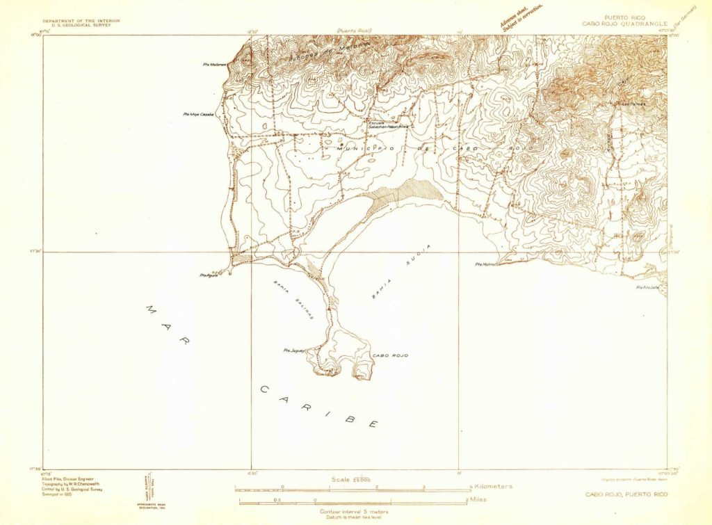 Historical Topographic Map Collection
