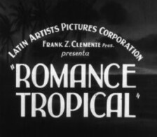 Disponible Película Romance Tropical